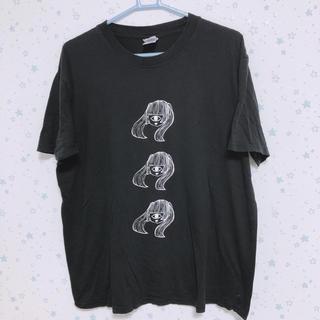 FUNKY FRUIT - ファンキーフルーツ  一つ目ツインテール女の子 Tシャツ