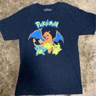 ポケモン(ポケモン)の美品 pokemon 海外版オフィシャル Tシャツ(Tシャツ/カットソー(半袖/袖なし))