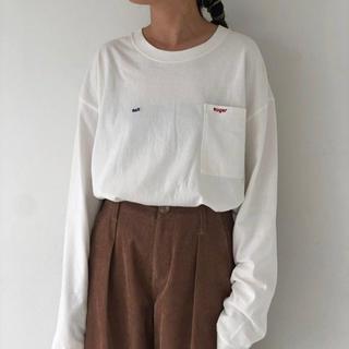 トゥデイフル(TODAYFUL)のソルト&シュガーロンT(Tシャツ(長袖/七分))
