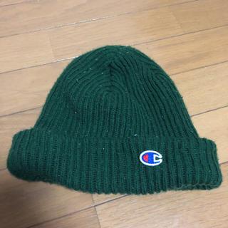 Champion - チャンピオン ニット帽 毛玉、使用感あり