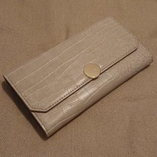 しまむら - 新品タグ付き★しまむら×mumuコラボ/サークルボタン長財布/白/ホワイト