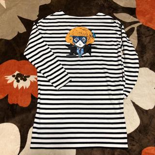 ジーユー(GU)のTシャツ ワンピース(Tシャツ(長袖/七分))