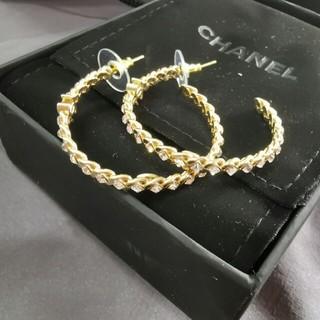 シャネル(CHANEL)の新品 大人気 chanel シャネル ピアス ファッション (ピアス)