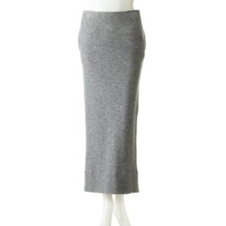 マディソンブルー(MADISONBLUE)のマディソンブルー ウールコットンサーマルロングスカート(ロングスカート)