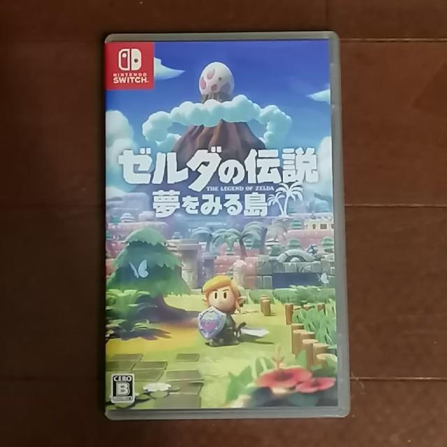 ゼルダの伝説 夢をみる島 エンタメ/ホビーのゲームソフト/ゲーム機本体(家庭用ゲームソフト)の商品写真