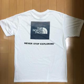 THE NORTH FACE - ノースフェイス スクエアロゴ Tシャツ Lサイズ ホワイト