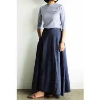 マディソンブルー(MADISONBLUE)のマディソンブルー バックサテンマキシスカート(ロングスカート)