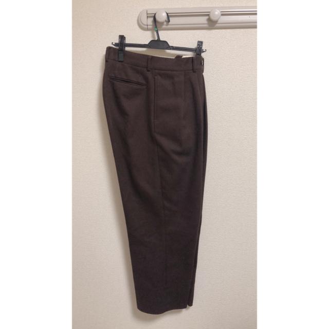 COMOLI(コモリ)のNEAT TOKYO cotton karsey wide  サイズ46 メンズのパンツ(スラックス)の商品写真