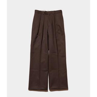 COMOLI - NEAT TOKYO cotton karsey wide  サイズ46