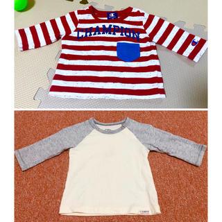 チャンピオン(Champion)のチャンピヨン 西松屋 70セット(Tシャツ)
