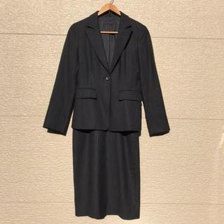 ICB - iCB スーツ セットアップ ジャケット スカート カシミヤ混 ストライプ 7