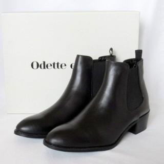 クレオパトラ様専用ページ Odette e odile 本革サイドゴアブーツ