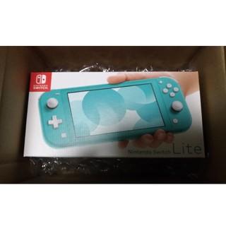 ニンテンドウ(任天堂)のNintendo Switch Lite ニンテンドースイッチライト ターコイズ(家庭用ゲーム機本体)