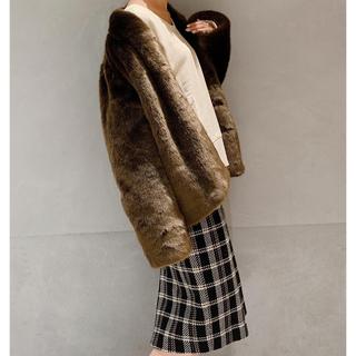ココディール(COCO DEAL)のチェックタイトスカート(ひざ丈スカート)