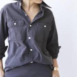 マディソンブルー(MADISONBLUE)のマディソンブルー ハンプトンシャツ(navy blue)(シャツ/ブラウス(長袖/七分))