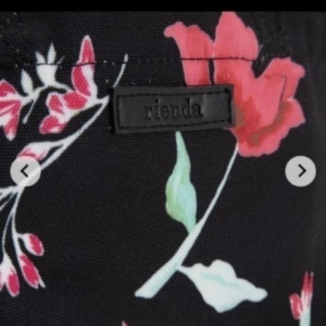 rienda(リエンダ)のリエンダ タグ付き ヴィンテージフラワートートBAG82  レディースのバッグ(トートバッグ)の商品写真