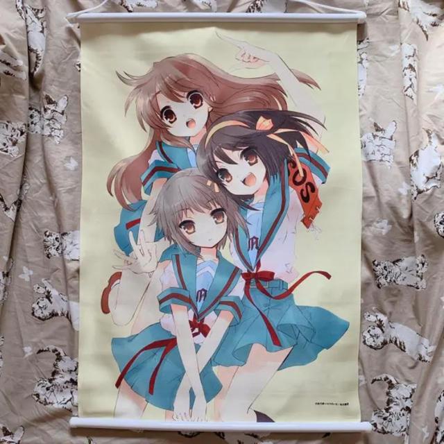 涼宮ハルヒの憂鬱 タペストリー エンタメ/ホビーのアニメグッズ(ポスター)の商品写真