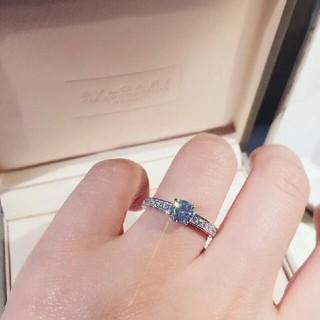 ティファニー(Tiffany & Co.)の♥可愛い ブルガリ リング(指輪) ダイヤ 刻印 正規品 (リング(指輪))