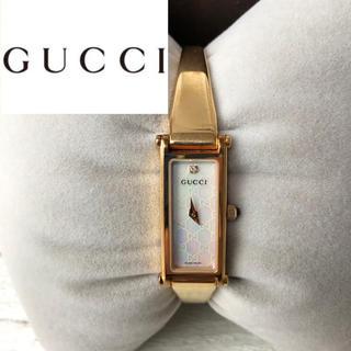 Gucci - GUCCI グッチ レディース 腕時計 ゴールド