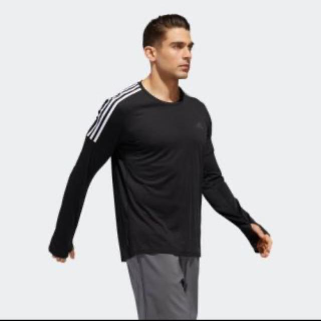 adidas(アディダス)のアディダス ロングTシャツ L メンズのトップス(Tシャツ/カットソー(七分/長袖))の商品写真