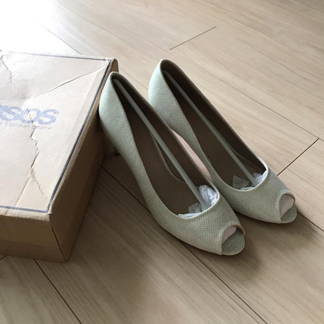 asos(エイソス)のオープントゥ ハイヒール レディースの靴/シューズ(ハイヒール/パンプス)の商品写真