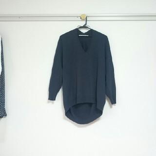 アングローバルショップ(ANGLOBAL SHOP)のANGROBAL SHOP ホールガーメント Vネックセーター(ニット/セーター)