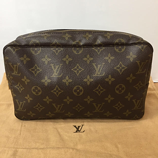 LOUIS VUITTON - 鑑定済み LOUIS VUITTON ルイヴィトン トゥルーストクレット28