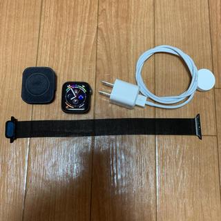 アップルウォッチ(Apple Watch)の美品‼️Apple Watch Series 4/40mm(その他)