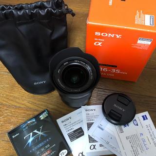 SONY - Sony sel1635z FE16-35mmF4 ZAOSS 広角ズームレンズ