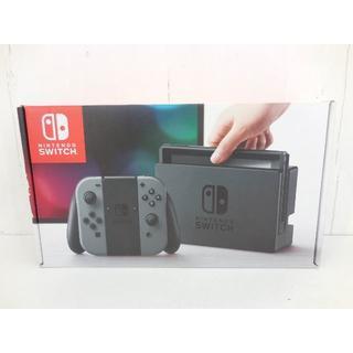 任天堂 - 【中古】 任天堂 Nintendo Switch グレー 動作確認済み スイッチ