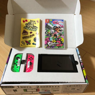 Nintendo Switch - 最安値 美品! ニンテンドースイッチ  スプラトゥーンモデル