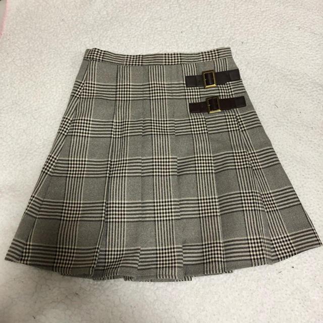 evelyn(エブリン)のEvelyn  チェック プリーツスカート レディースのスカート(ミニスカート)の商品写真