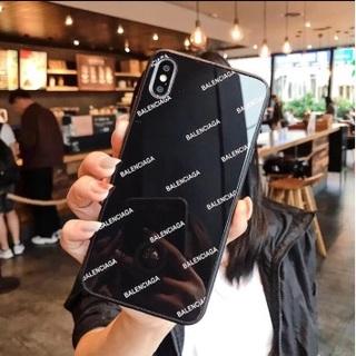 バレンシアガ(Balenciaga)の新品のiPhone7/8 強化ガラスケース(iPhoneケース)