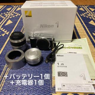 Nikon - ニコン Nikon 1 J5 ダブルズームレンズキット