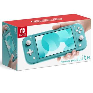 ニンテンドースイッチ(Nintendo Switch)の新品 ニンテンドースイッチ ライト 本体 SWITCH LITE(家庭用ゲーム機本体)