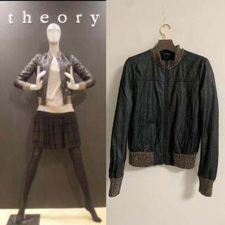 セオリー(theory)の定価10万円 セオリー レザージャケット 2(ライダースジャケット)