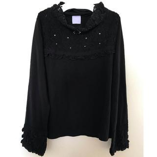 アクシーズファム(axes femme)のaxes femme (アクシーズファム) トップス 130 黒(Tシャツ/カットソー)