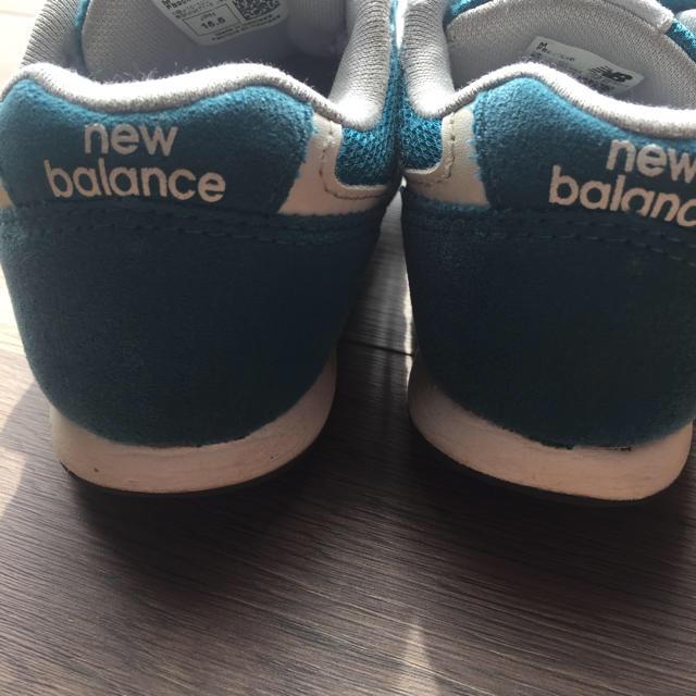 New Balance(ニューバランス)のmaa様専用です! キッズ/ベビー/マタニティのキッズ靴/シューズ (15cm~)(スニーカー)の商品写真