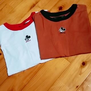 ヘザー(heather)のヘザー ミッキーtシャツ(Tシャツ(半袖/袖なし))