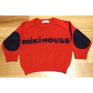ミキハウス(mikihouse)の【美品】ミキハウス セーター 80 ニット レトロ レア(ニット/セーター)