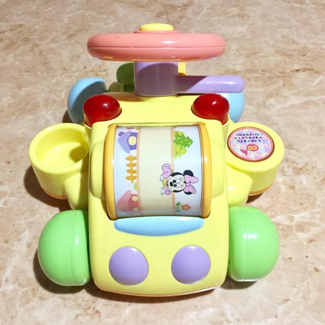 Disney(ディズニー)のディズニー ミッキー ハンドル おもちゃ キッズ/ベビー/マタニティのおもちゃ(知育玩具)の商品写真