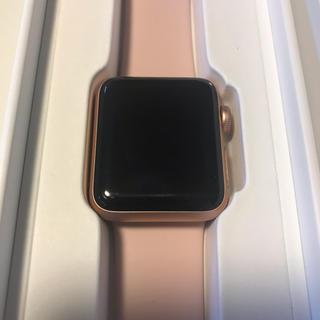 Apple Watch - アップルウォッチ series 3 38mm ゴールド