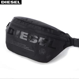 DIESEL - 美品 DIESEL ディーゼル ロゴ ウエストバッグ