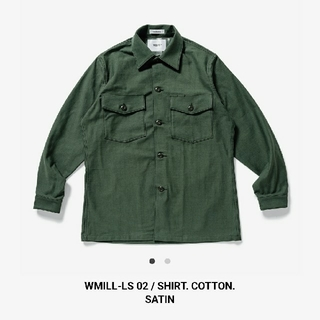 W)taps - WTAPS WMILL-LS 02 / SHIRT. COTTON. SATIN