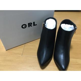 GRL - サイドジップショートブーツ