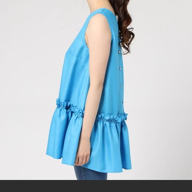Chesty(チェスティ)の値下げ❣️美品 ヴェロフォンナ オレンジブラウス レディースのトップス(シャツ/ブラウス(半袖/袖なし))の商品写真