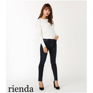 rienda - SALE❗️rienda シンプルJ/W DENIMアンクルパギンス