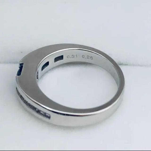 k18WG  サファイア&ダイヤモンド リング レディースのアクセサリー(リング(指輪))の商品写真