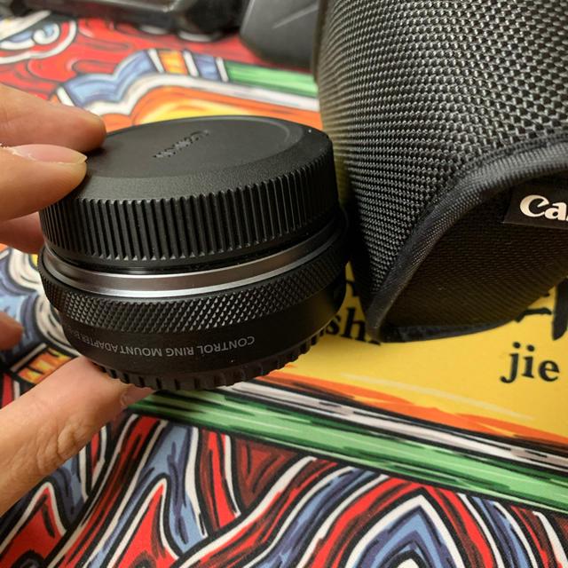 Canon(キヤノン)のコントロールリング あるEOS R マウントアダプター スマホ/家電/カメラのカメラ(その他)の商品写真