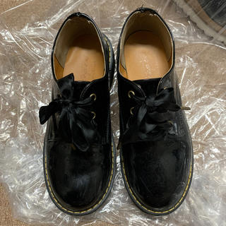 ダブルクローゼット(w closet)の厚底 マーチン風シューズ(ローファー/革靴)